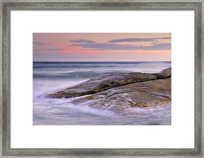 Attack The Waves Framed Print by Guido Montanes Castillo
