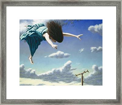 Attempts At Flight #19 Framed Print