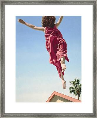 Attempts At Flight #8 Framed Print