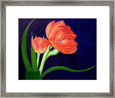 Attention. I Am Here Framed Print by Madalena Lobao-Tello