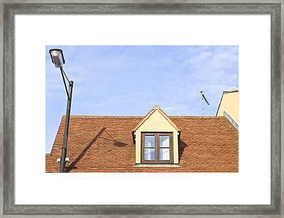 Attic Room  Framed Print
