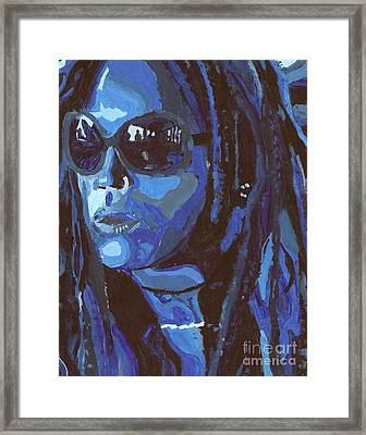 Attitude Framed Print by Candice Waits