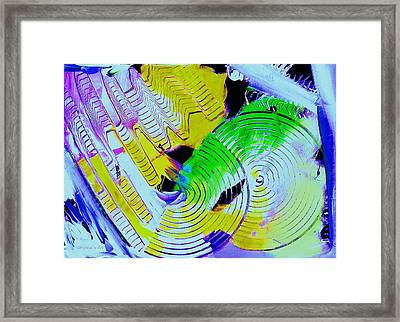 Attracting Space Framed Print by Ruth Yvonne Ash