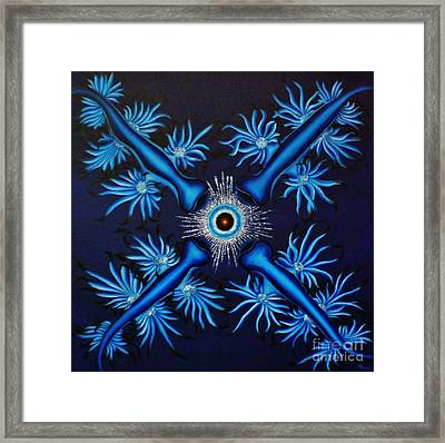 Attraction Framed Print by Paula Ludovino