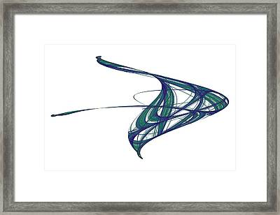 Attractor No. 29 Framed Print by Mark Eggleston