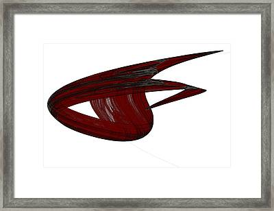 Attractor No. 31 Framed Print by Mark Eggleston