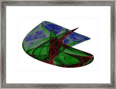 Attractor No. 32 Framed Print by Mark Eggleston