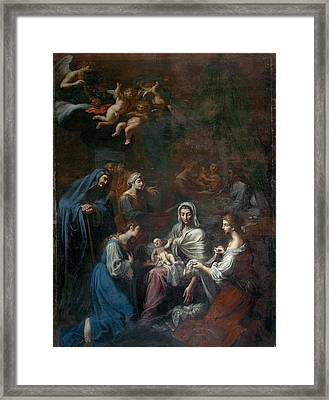 Attributed Brandi Giacinto, The Birth Framed Print by Everett