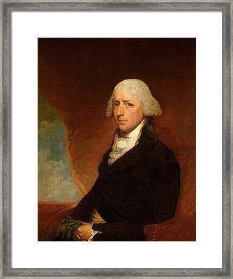 Attributed To Gilbert Stuart, John Ashe, American Framed Print
