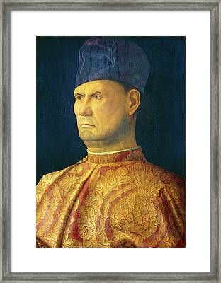 Attributed To Giovanni Bellini Framed Print by Litz Collection