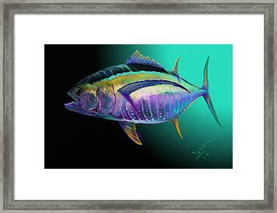 Atun Framed Print by Yusniel Santos
