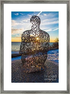 Atwater Spillover Sunrise Framed Print