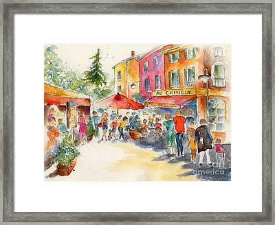 Au Chineur Framed Print by Pat Katz
