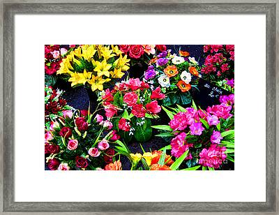 Au Choix Framed Print by Olivier Le Queinec