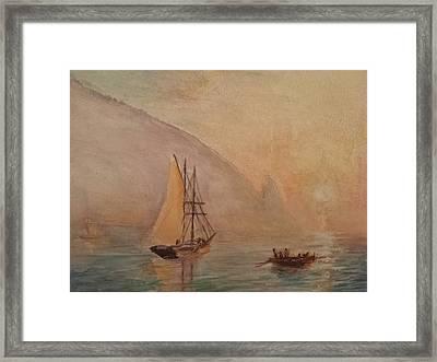 Au-dag After I. K. Aivazovsky Framed Print