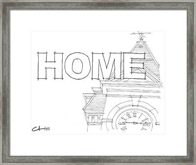 Au Home Framed Print by Calvin Durham