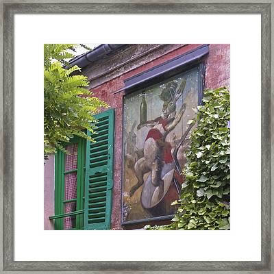 Au Lapin Agile Framed Print