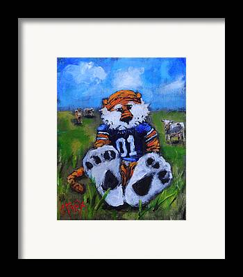 Mascot Paintings Framed Prints
