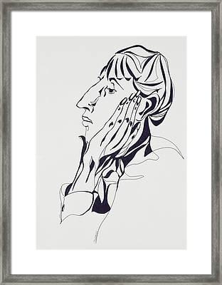 Aubrey Beardsley Framed Print