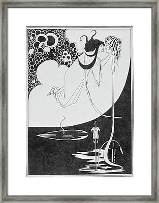 Aubrey Beardsley's Drawings Framed Print