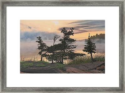 Auburn Evening Framed Print by Kenneth M  Kirsch
