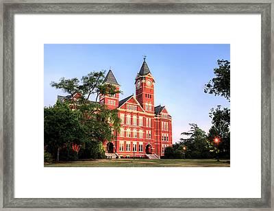 Auburn Framed Print by JC Findley