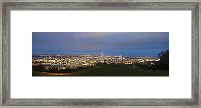 Auckland Nights Framed Print