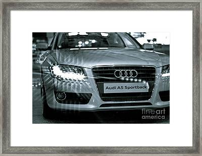 Audi A5 Framed Print by Syed Aqueel