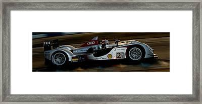 Audi Formula 1 Race Car Framed Print