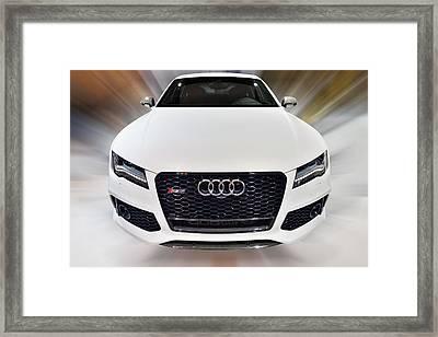 Audi  R S 7 Quattro 2014 Framed Print