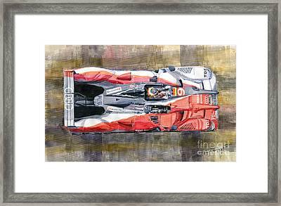 Audi R15 Tdi Le Mans 24 Hours 2010 Winner  Framed Print by Yuriy  Shevchuk
