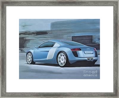 Audi R8 Lemans Concept Framed Print by Paul Kuras