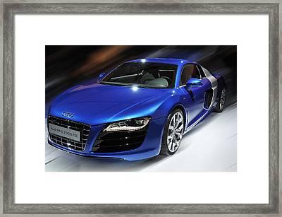 Audi R8 V10 Fsi Framed Print
