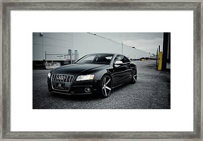 Audi S5 Framed Print by Art Work