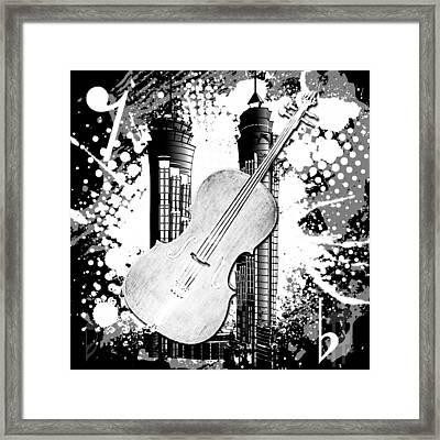 Audio Deco 1 Framed Print