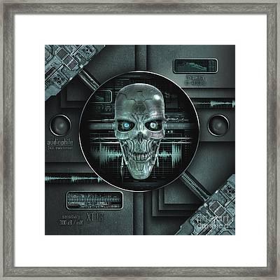 Audiophile Framed Print by Franziskus Pfleghart