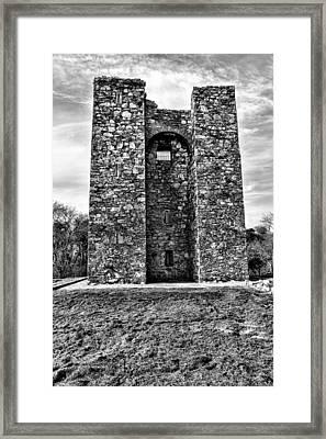 Audley's Castle Framed Print