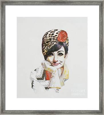 Audrey 2 Framed Print