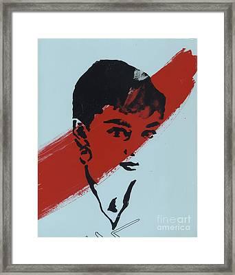 Audrey 5 Framed Print