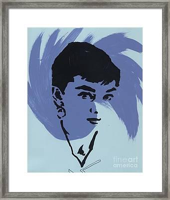 Audrey 6 Framed Print