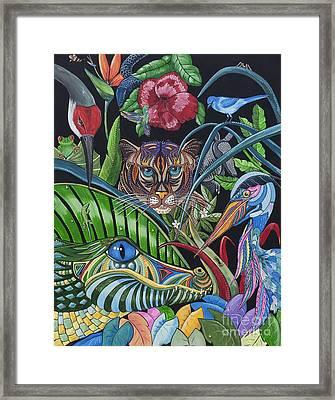 Audrey Framed Print by Barbara Miller
