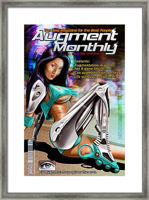 Augment Monthly Framed Print