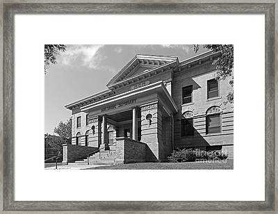 Augsburg College Old Main Framed Print by University Icons