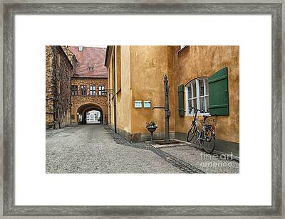 Augsburg Germany Framed Print by Paul Fearn