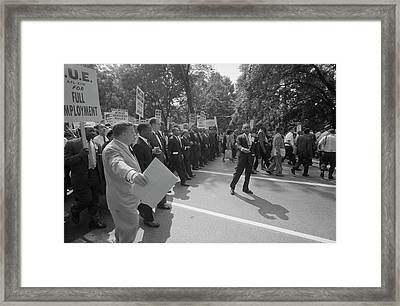 August 28, 1963 - Martin Luther King Framed Print