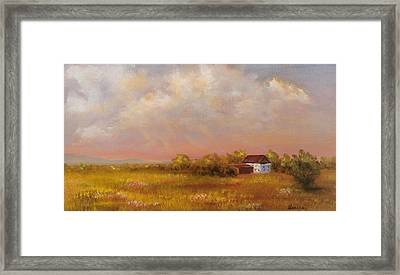 August Afternoon Pa Framed Print
