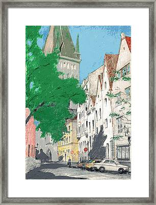 August Day Framed Print