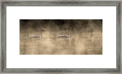 August Passage Framed Print