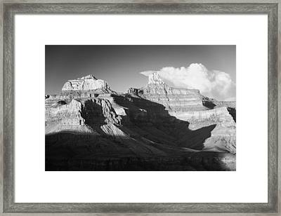 August Sunset Brahma And Zoroaster Temples Framed Print