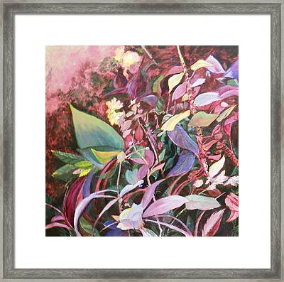 August Tangle Framed Print